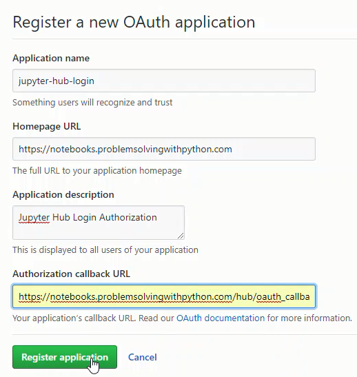 Adding Google OAuth and system service to a Jupyter Hub server